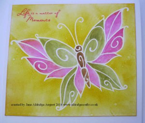 Woodware Curly Butterfly