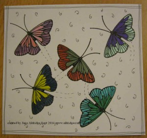 Stampendous Single Butterfly