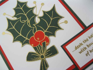 Woodware Sprig ofHolly
