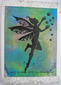 Sweet Poppy Stencil Fairie