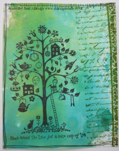 Crafty Individuals Tea Tree Stamp