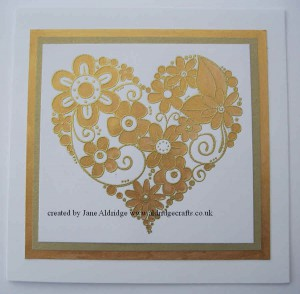 Woodware Curly Love Stamp