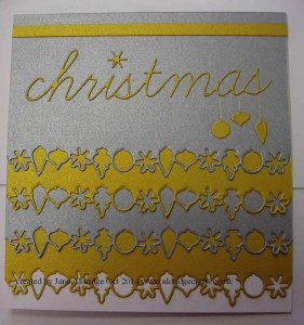 Memory Box Ornament Border Die
