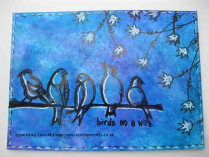 PaperArtsy Tops & Tails 2 Stamp