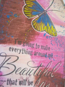 Stampendous Butterfly Stamp