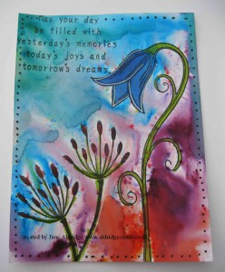 PaperArtsy Stamp with Brushos