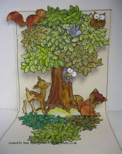Stampendous Forest Stamps and Dies
