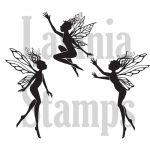 Lavinia Stamps Three Dancing Fairies