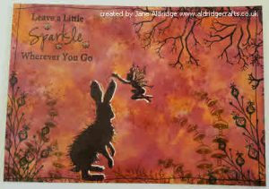 Lavinia Stamps Woodland Hares