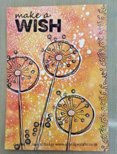 PaperArtsy Make a Wish