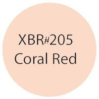 #205 Coral Red Koi Colouring Brush Pen