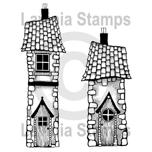 Bella's House - Lavinia Stamps (LAV448)