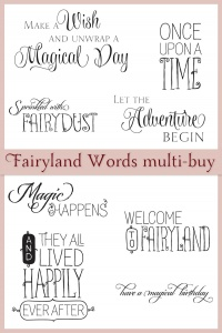 Chocolate Baroque Fairyland Words Clear Multiset