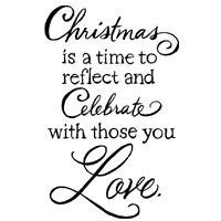 Christmas Love Stampendous Cling Stamp (CRM326)