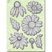 Daisy Mix Stampendous Cling Stamp (CRS5082)