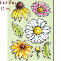 Daisy Mix  Stampendous Die Set (DCS5082)