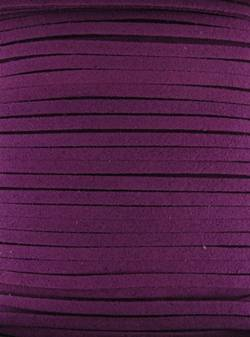 Faux Suede Roll - Purple- 1m