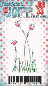 JOFY Mini 33 Little Flower PaperArtsy Stamp (JM33)