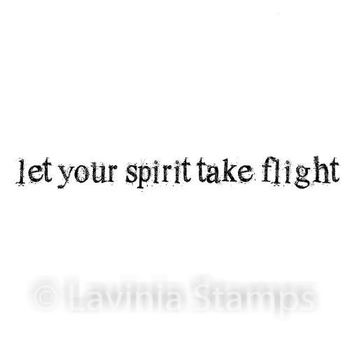 Let Your Spirit Take Flight - Lavinia Stamps (LAV523)