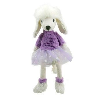 Purple Poodle Wilberry Toy