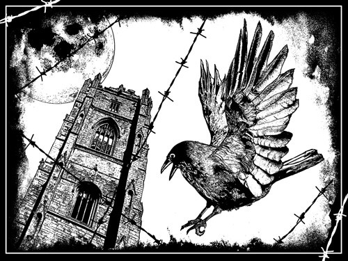 The Crow Crafty Individuals Stamp (CI-319)