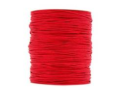 Wax Cotton 0.6mm - Red (one metre)