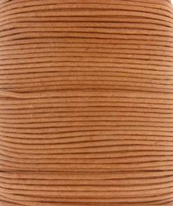 Wax Cotton 1mm - Camel (one metre)