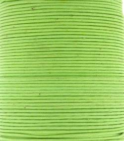 Wax Cotton 1mm - Lime Green (one metre)