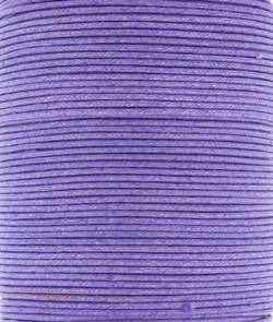 Wax Cotton 2mm - Light Orchid (one metre)