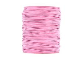 Wax cotton 0.6mm - Baby Pink (one metre)