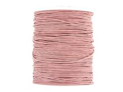Wax cotton 0.6mm - Dusty Pink (one metre)
