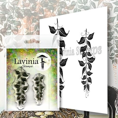 Berry Leaves - Lavinia Stamps (LAV577)