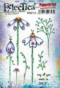 E³ Kay Carley 13 (A5 set, trimmed, on EZ) (EKC13) PaperArtsy Stamp