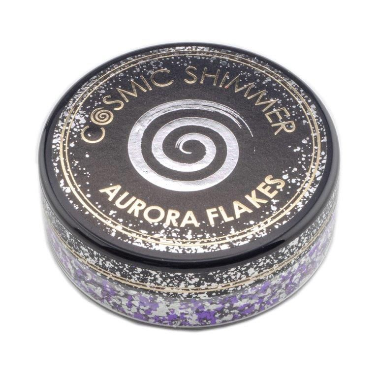 Frosted Violet Cosmic Shimmer Aurora Flakes (50ml)
