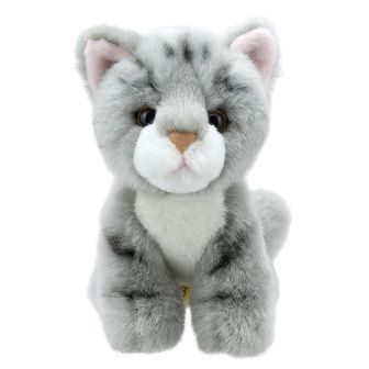 Grey Cat Mini Wilberry Toy