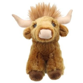 Highland Cow Mini Wilberry Toy