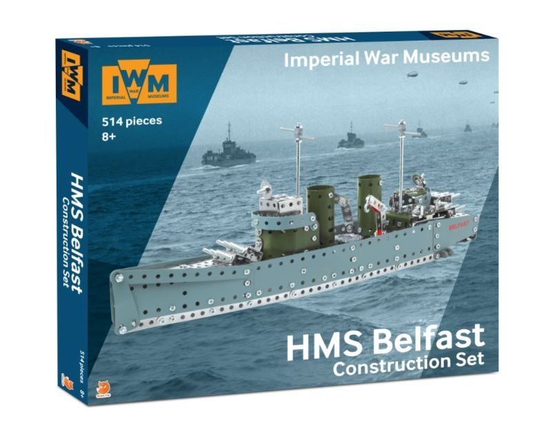 Hms Belfast Metal Construction Kit