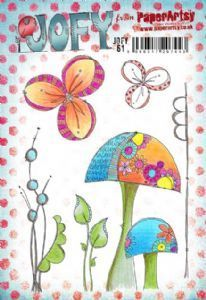 JOFY61 (A5 set, trimmed, on EZ) (JOFY61) PaperArtsy Stamp