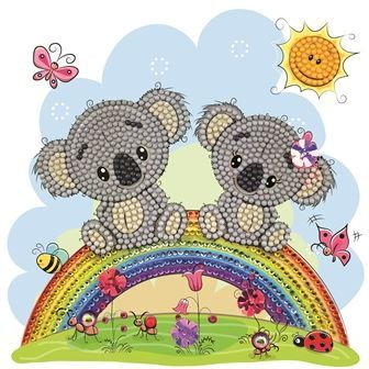 Koala Crystal Art Card Kit