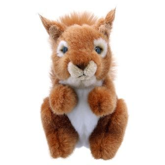 Red Squirrel Mini Wilberry Toy