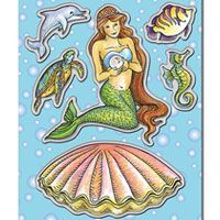 Stampendous Die Pearl Mermaid (DCS5088)