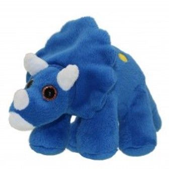 Triceratops Blue Wilberry Toy