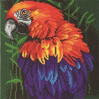Tropical Bird 30x30cm Crystal Art Kit