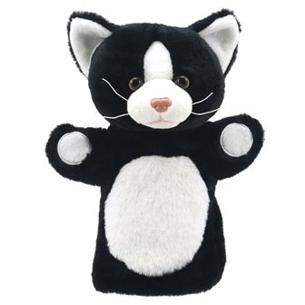 Puppet - Cat black and White