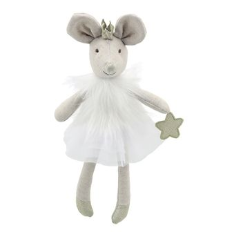White Mouse Wilberry Toy