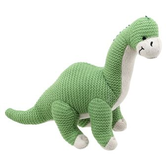 Brontosaurus Knitted Wilberry Toy