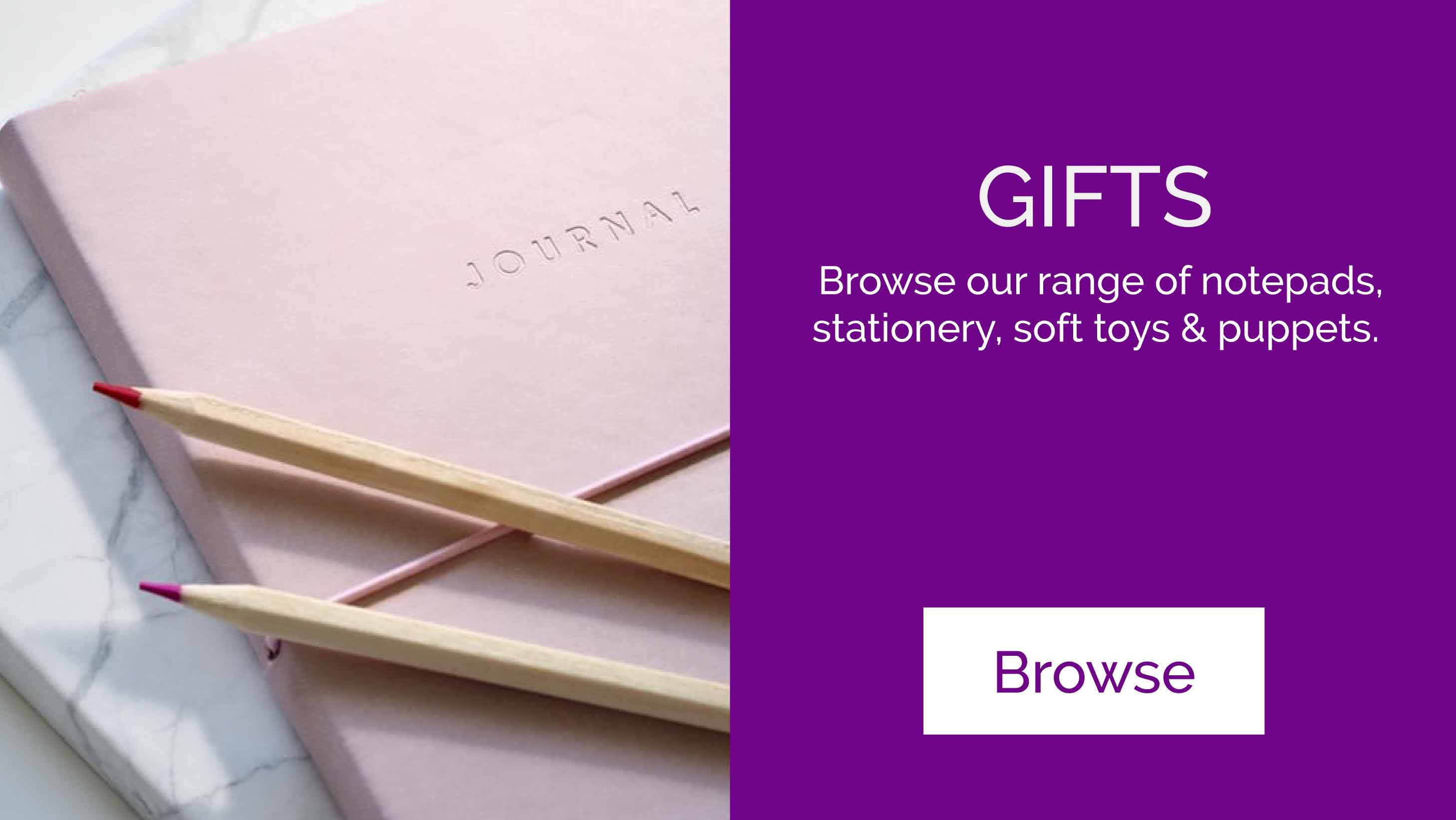 Shop gifts & notebooks